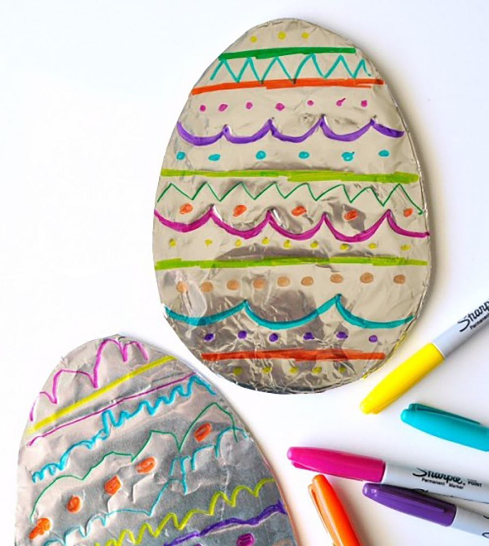 tinfoil eggs